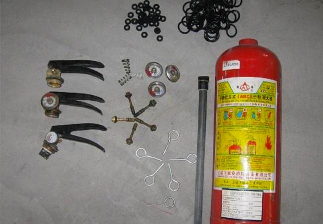 灭火器器材维修检测